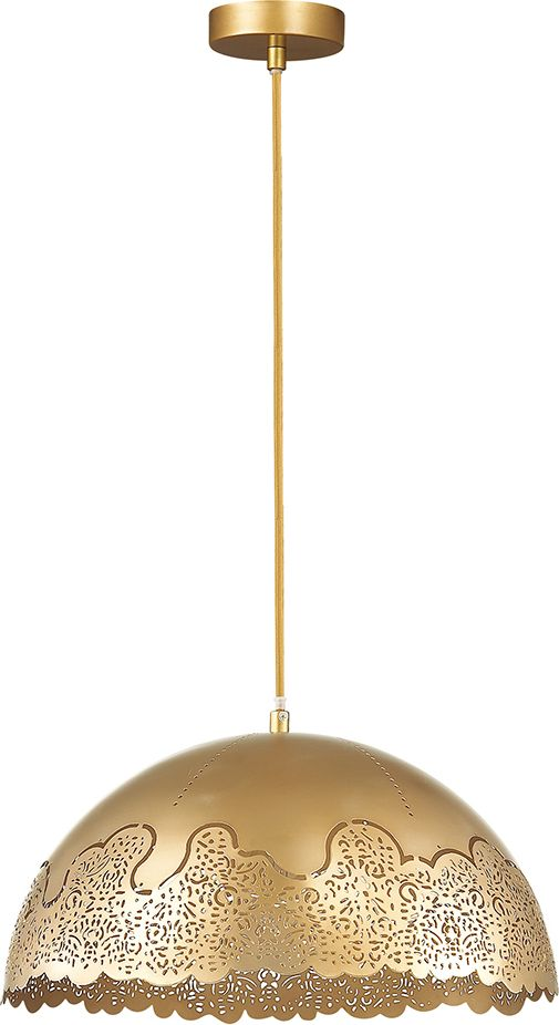 Светильник подвесной Odeon Light Veki Gold, 1 х E27, 60W. 3298/13298/1
