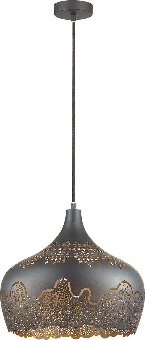 Светильник подвесной Odeon Light Veki Black, 1 х E27, 60W. 3302/13302/1