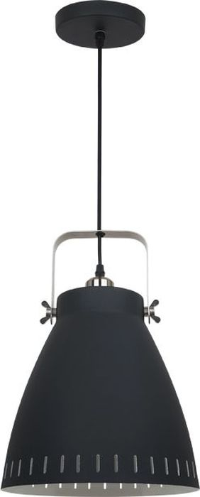 Светильник подвесной Odeon Light Mestre Black, 1 х E27, 100W. 3333/13333/1