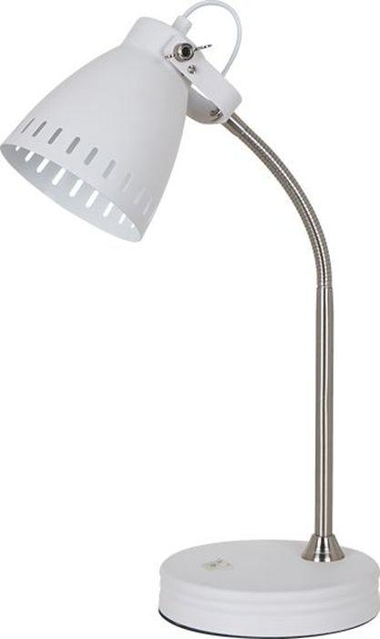 Лампа настольная Odeon Light Mestre White, 1 х E27, 60W. 3333/1T3333/1T