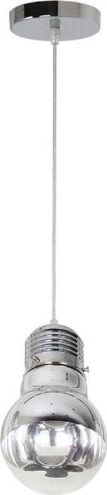 Светильник подвесной Odeon Light Telsu Chrome, 1 х E27, 60W. 3351/13351/1