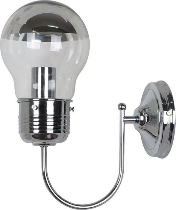 Бра Odeon Light Telsu Chrome, 1 х E27, 60W. 3351/1W3351/1W
