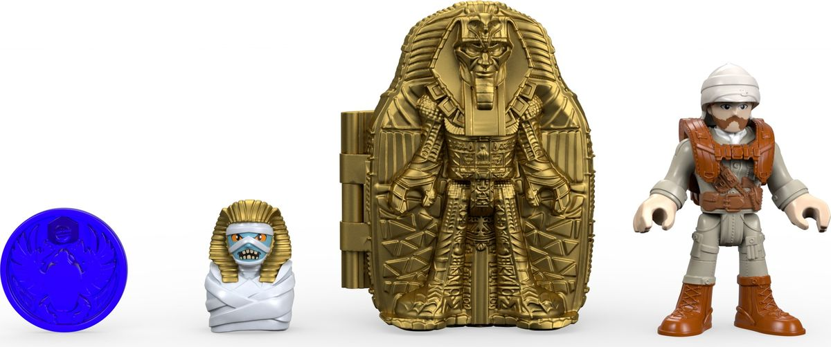 Imaginext Набор фигурок Расхитители гробниц Mummy Maker 2 шт imaginext игровой набор расхитители гробниц мумия