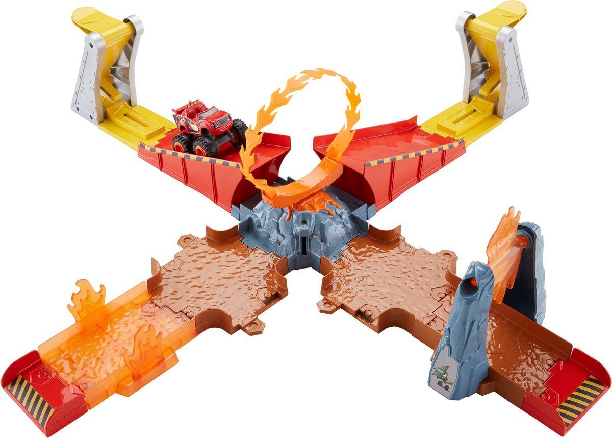 Blaze Игровой набор Вспыш Прыжок через пылающий вулкан blaze игровой набор вспыш прыжок через пылающий вулкан