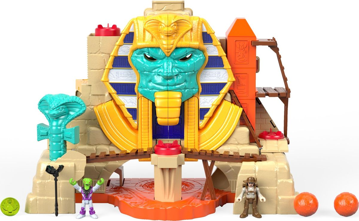 Imaginext Игровой набор Расхитители гробниц Пирамида imaginext игровой набор расхитители гробниц мумия