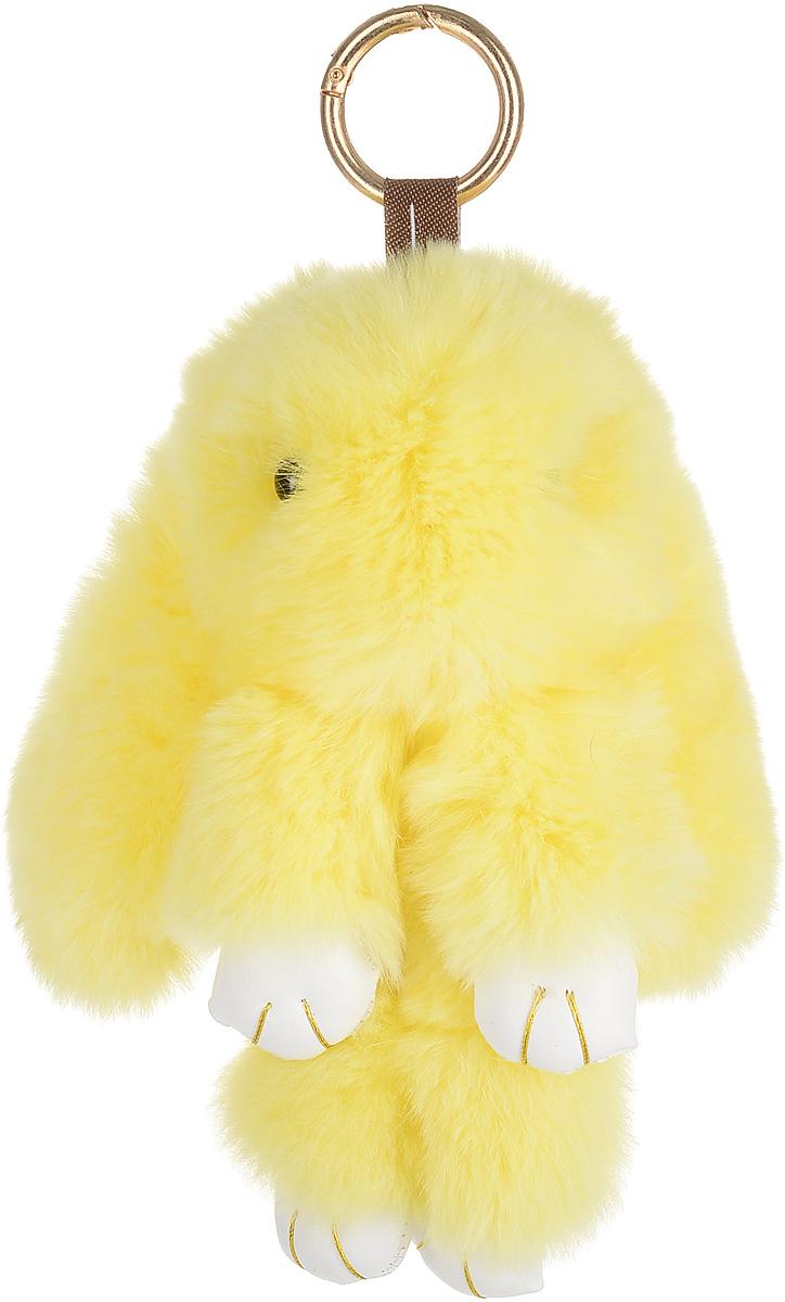 Брелок женский Good Mood, цвет: желтый. 640640Необычайно мягкий , пушистый Кролик- брелок станет прекрасным подарком на любой праздник или событие. Против его очарования нет равнодушных! Помимо отличительных тактильных ощущений и высокого качества, кролик-брелок является стильным аксессуаром, которым можно украшать сумки, мобильные телефоны, джтнсы, ключи, салоны машин и рабочие интерьеры