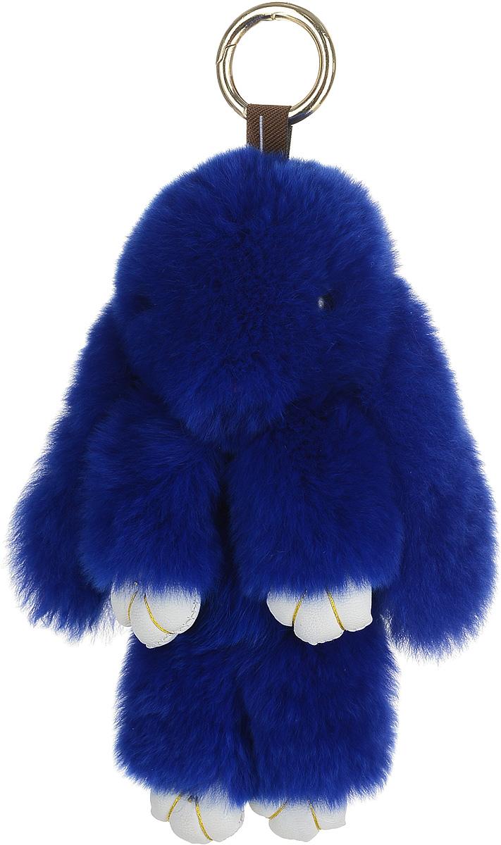 Брелок женский Good Mood, цвет: синий. 613613Необычайно мягкий , пушистый Кролик- брелок станет прекрасным подарком на любой праздник или событие. Против его очарования нет равнодушных! Помимо отличительных тактильных ощущений и высокого качества, кролик-брелок является стильным аксессуаром, которым можно украшать сумки, мобильные телефоны, джтнсы, ключи, салоны машин и рабочие интерьеры
