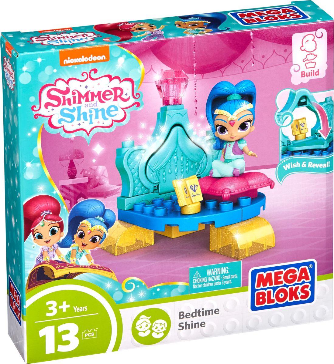Mega Bloks Shimmer & Shine Конструктор Bedtime Shine shimmer & shine набор фигурок тала и нала
