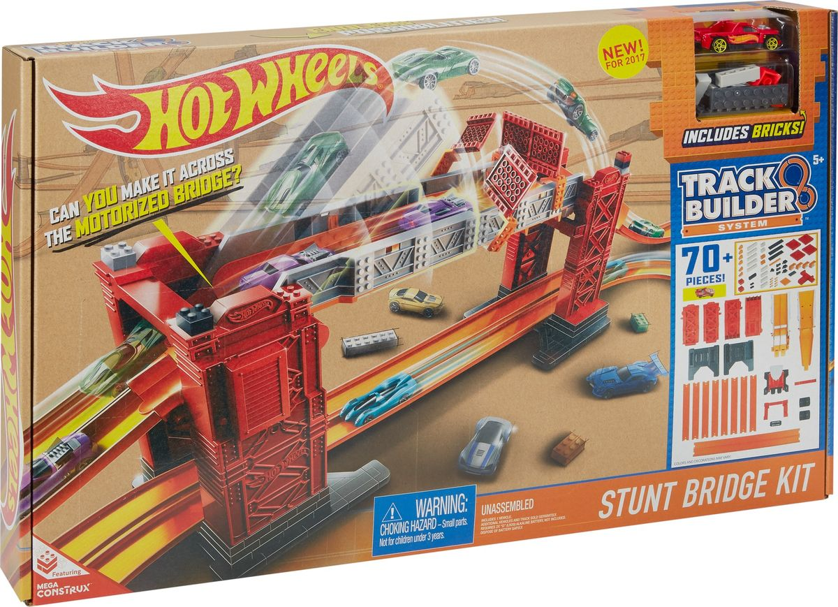 Hot Wheels Игрушечный трек Разводной мост hot wheels игрушечный трек робот крушитель
