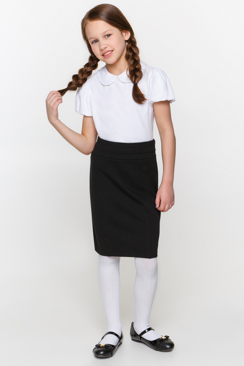 Юбка для девочки Overmoon by Acoola Mora, цвет: черный. 21200180002_100. Размер 152 детская футболка классическая унисекс printio могучие рейнджеры