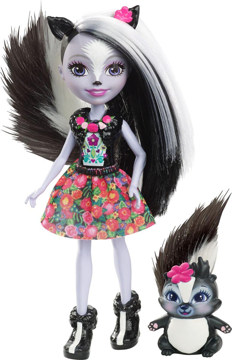 Enchantimals Игровой набор с куклой Sage Scunk enchantimals игровой набор с куклой дополнительная кукла со зверюшкой fnh22 fjj21