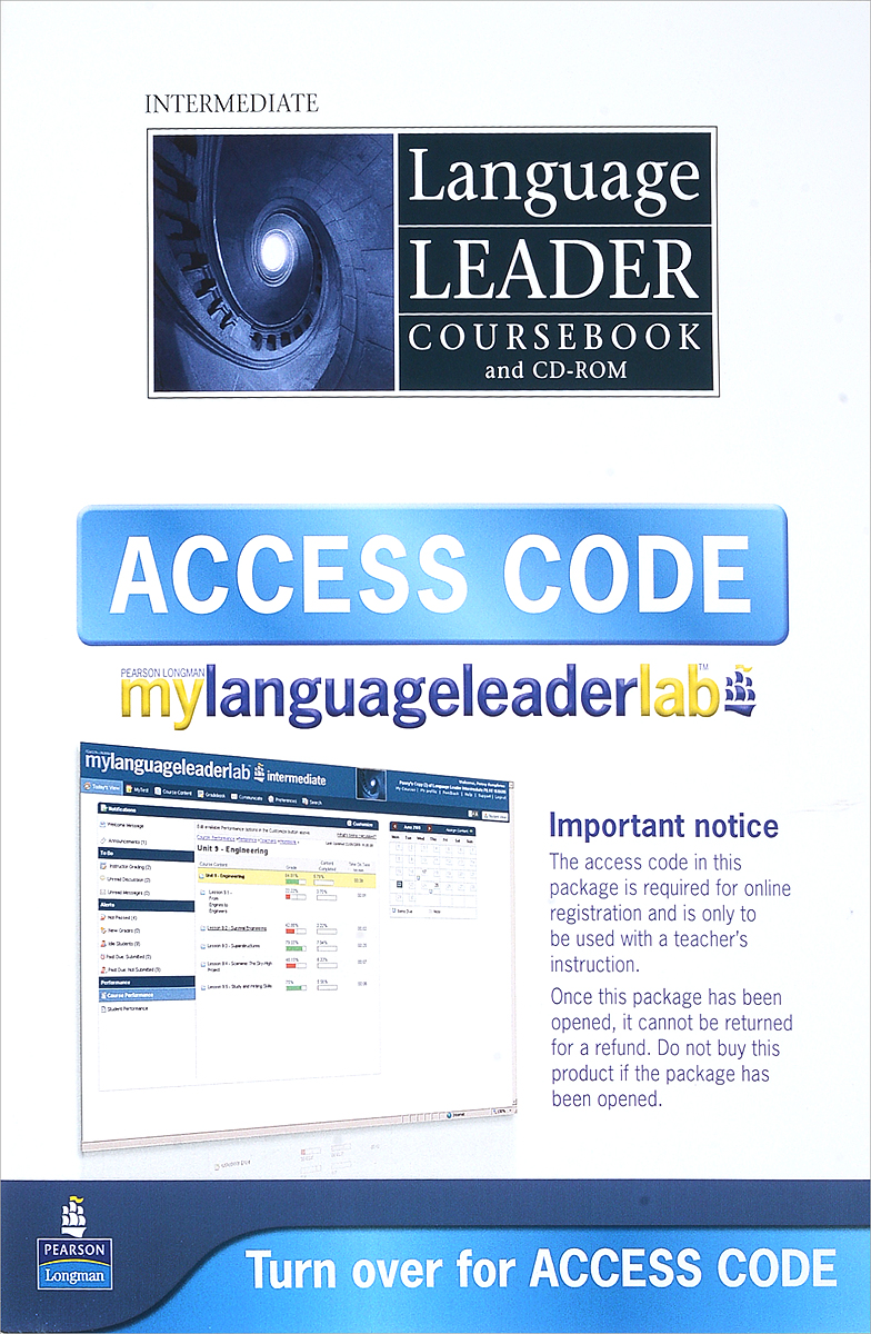 Language Leader: Intermediate (+ CD-ROM) cobuild intermediate learner's dictionary