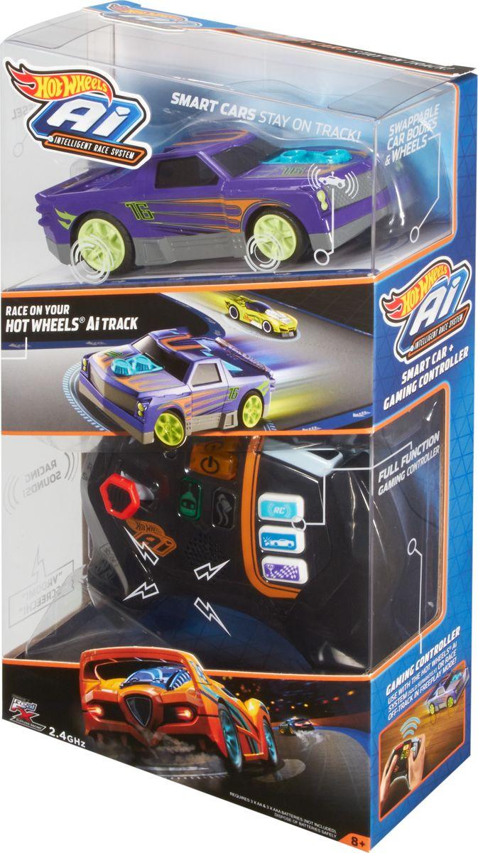 Hot Wheels Core Игрушечный трек Умная трасса цвет машинки синий
