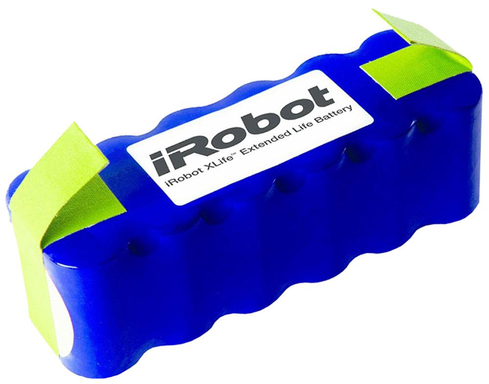 iRobot аккумуляторная батарея для Roomba и Scooba 450iR1102Никельметаллгидридная аккумуляторная батарея с функцией перезарядки. Подходит для всех серий роботов- пылесосов iRobot Roomba и Scooba 450. Батареяустанавливается путем снятия нижней панели с пылесоса. Для контроля перегрева устройство имееттерморезистор. В случае перегрева робот-пылесос прекращает работу и продолжает ее после остываниябатареи.