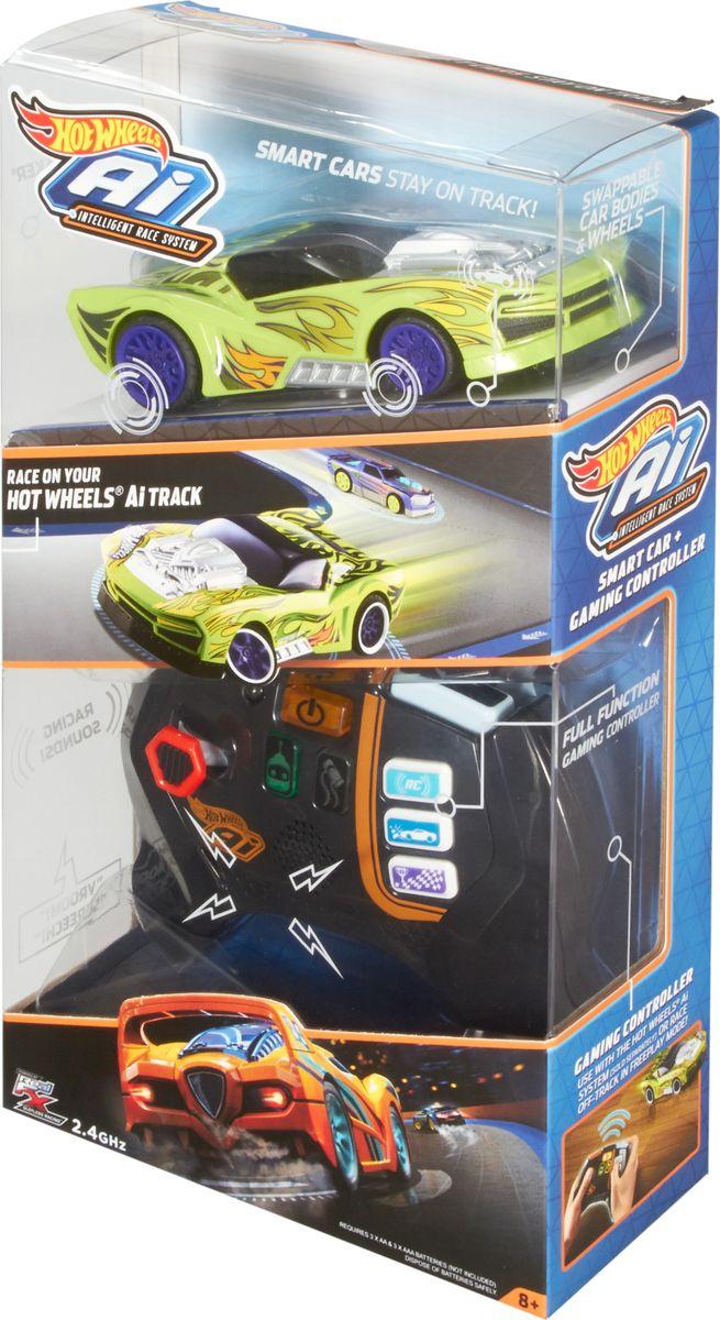 Hot Wheels Core Игрушечный трек Умная трасса цвет машинки зеленый hot wheels игрушечный трек робот крушитель
