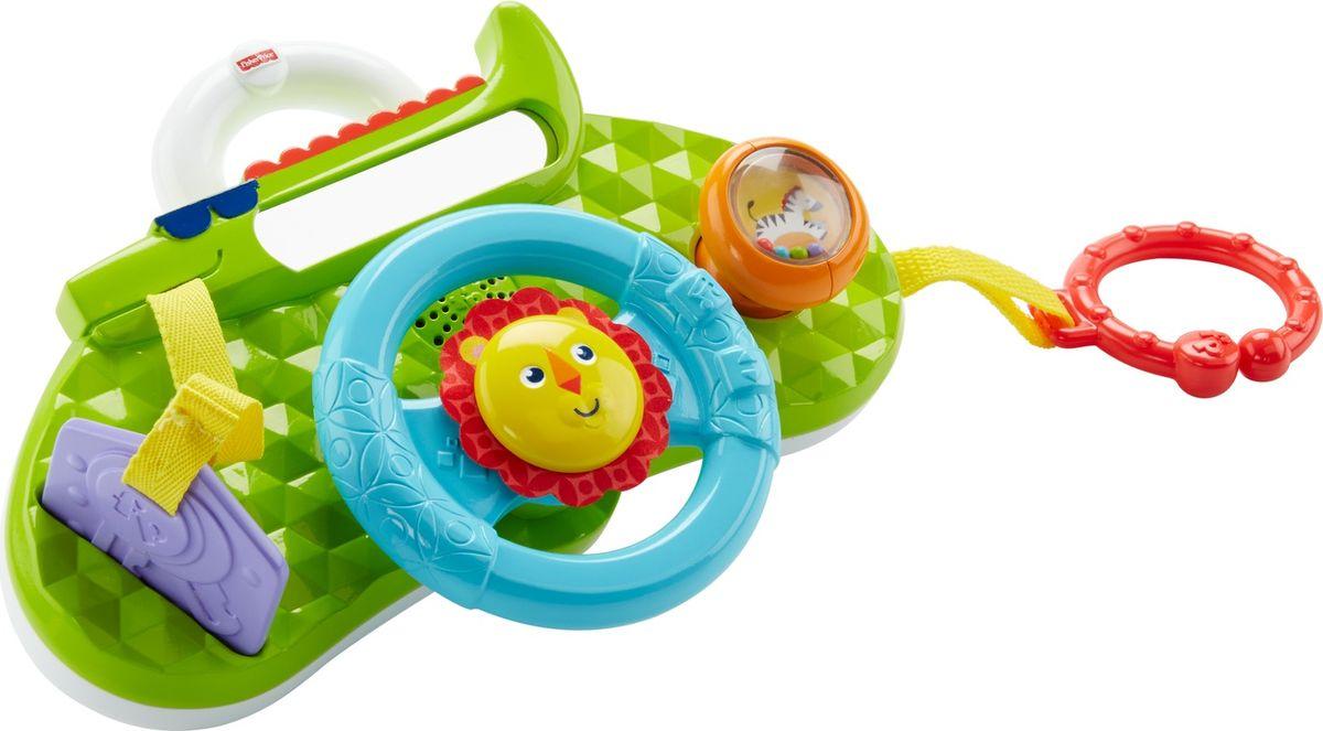Fisher-Price Развивающая игрушка Обучающий руль Львенок игрушки для ванной fisherprice набор для ванной mattel fisher priceвеселый львенок