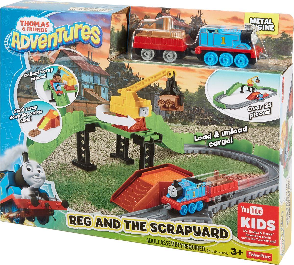 Thomas & Friends Железная дорога Рэг на свалке металлолома thomas & friends железная дорога чарли за работой