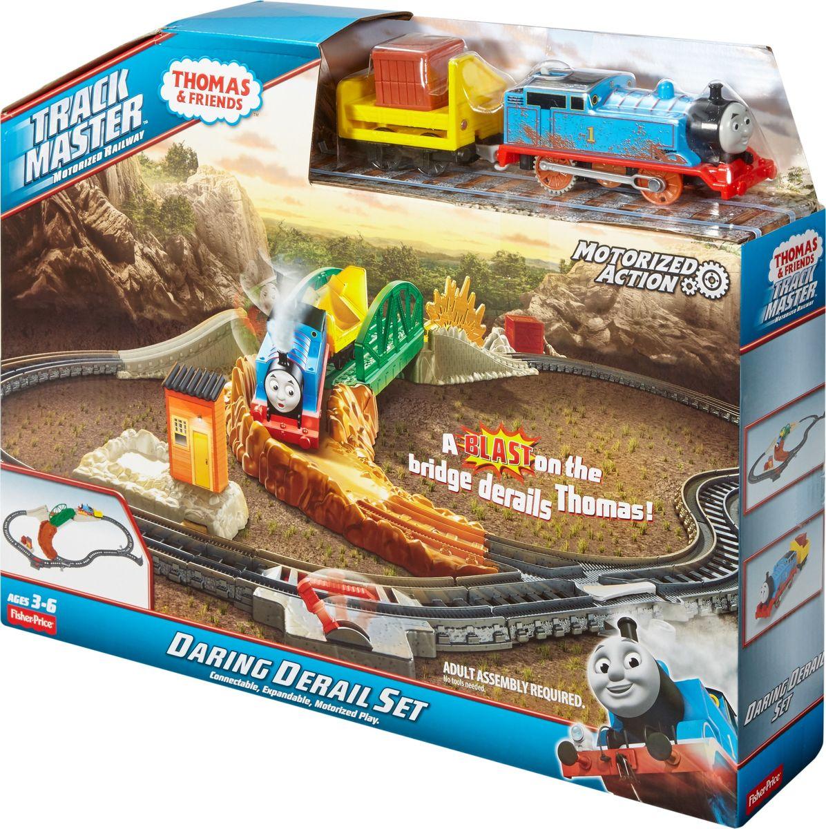 Thomas & Friends Железная дорога Опасный путь FBK07 thomas & friends железная дорога чарли за работой