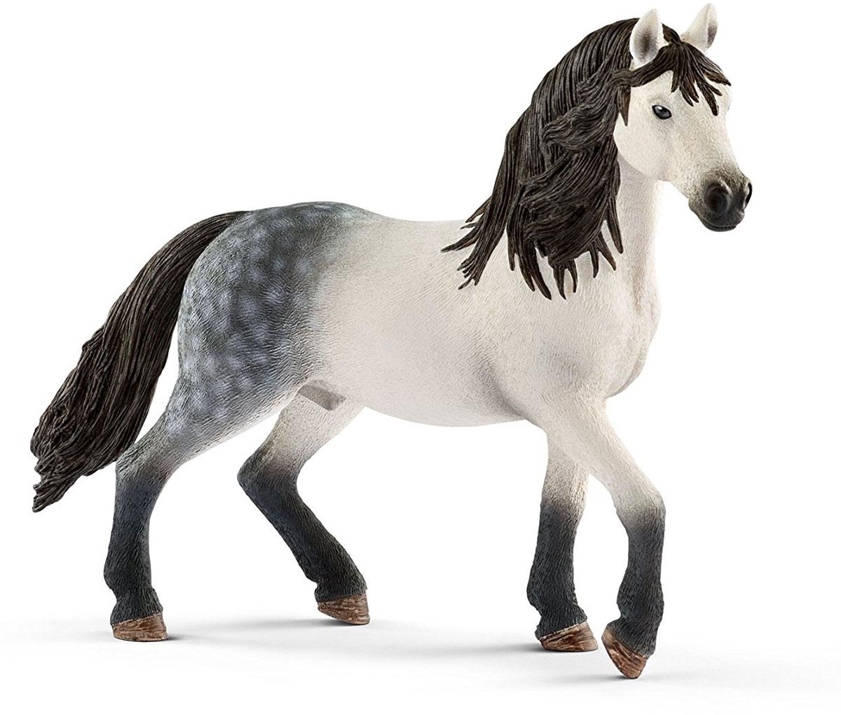 Schleich Фигурка Андалузский жеребец игрушка schleich фигурка андалузская кобыла