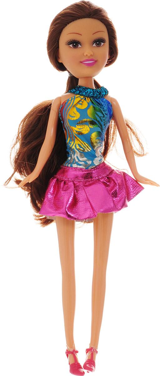 Funville Кукла Summer Fun цвет наряда синий розовый
