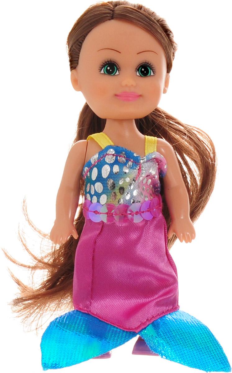 Funville Мини-кукла Волшебная русалочка цвет платья розовый голубой