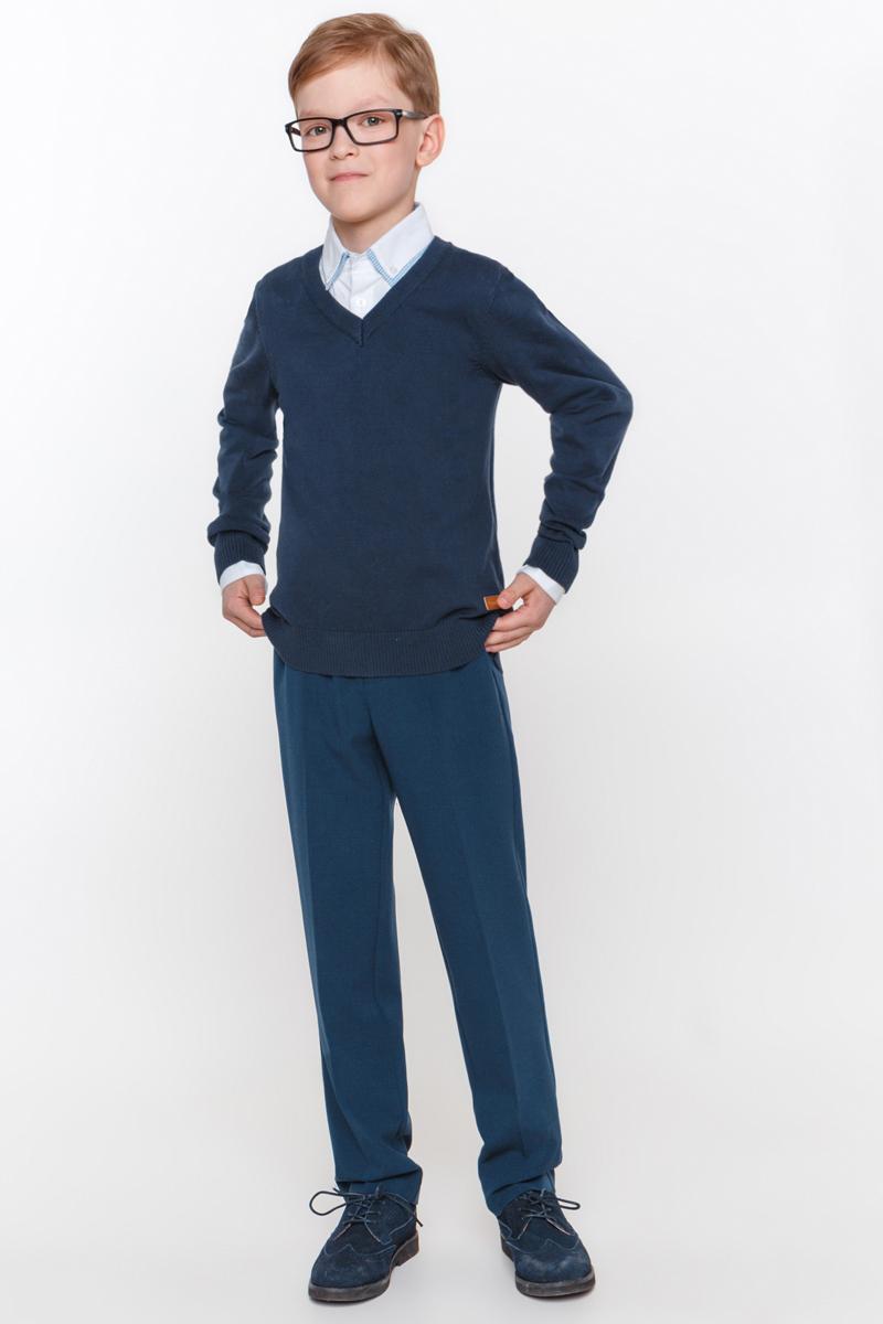 Джемпер для мальчика Overmoon by Acoola Borei, цвет: синий. 21100310001_500. Размер 14621100310001_500