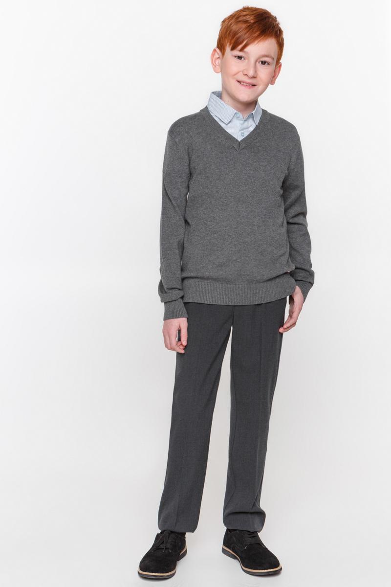 Джемпер для мальчика Overmoon by Acoola Borei, цвет: серый. 21100310001_1900. Размер 13421100310001_1900