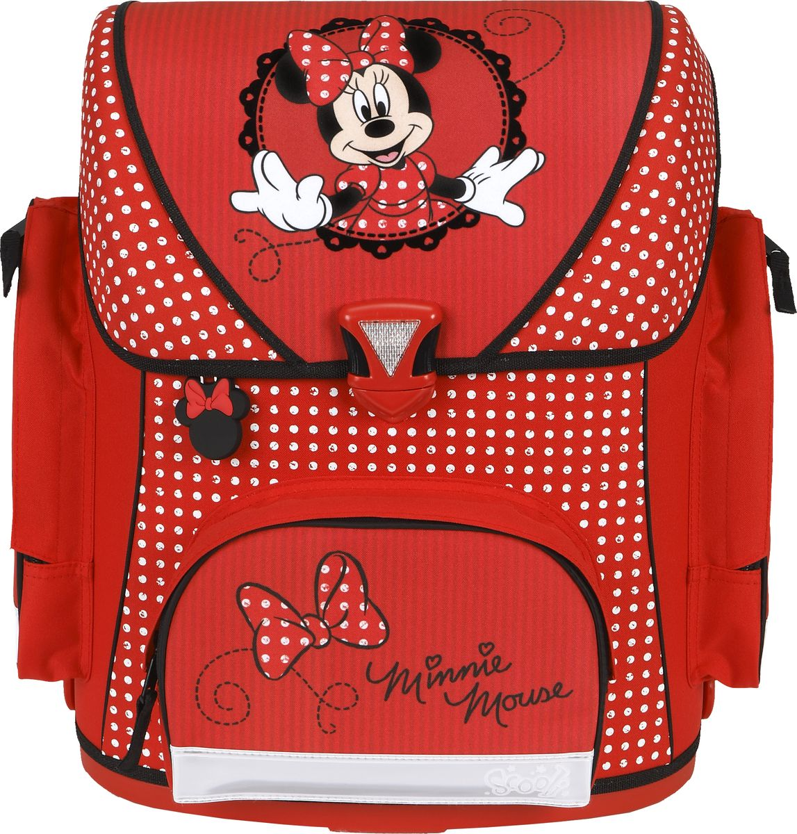Scooli Ранец школьный Minnie Mouse школьный ранец kinderline international minnie mouse mmcb ut1 988m