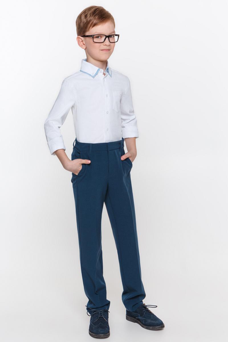 Рубашка для мальчика Overmoon by Acoola Somn, цвет: белый. 21100280002_200. Размер 170 кардиган для мальчика overmoon by acoola pont цвет темно серый 21100130002 2000 размер 170