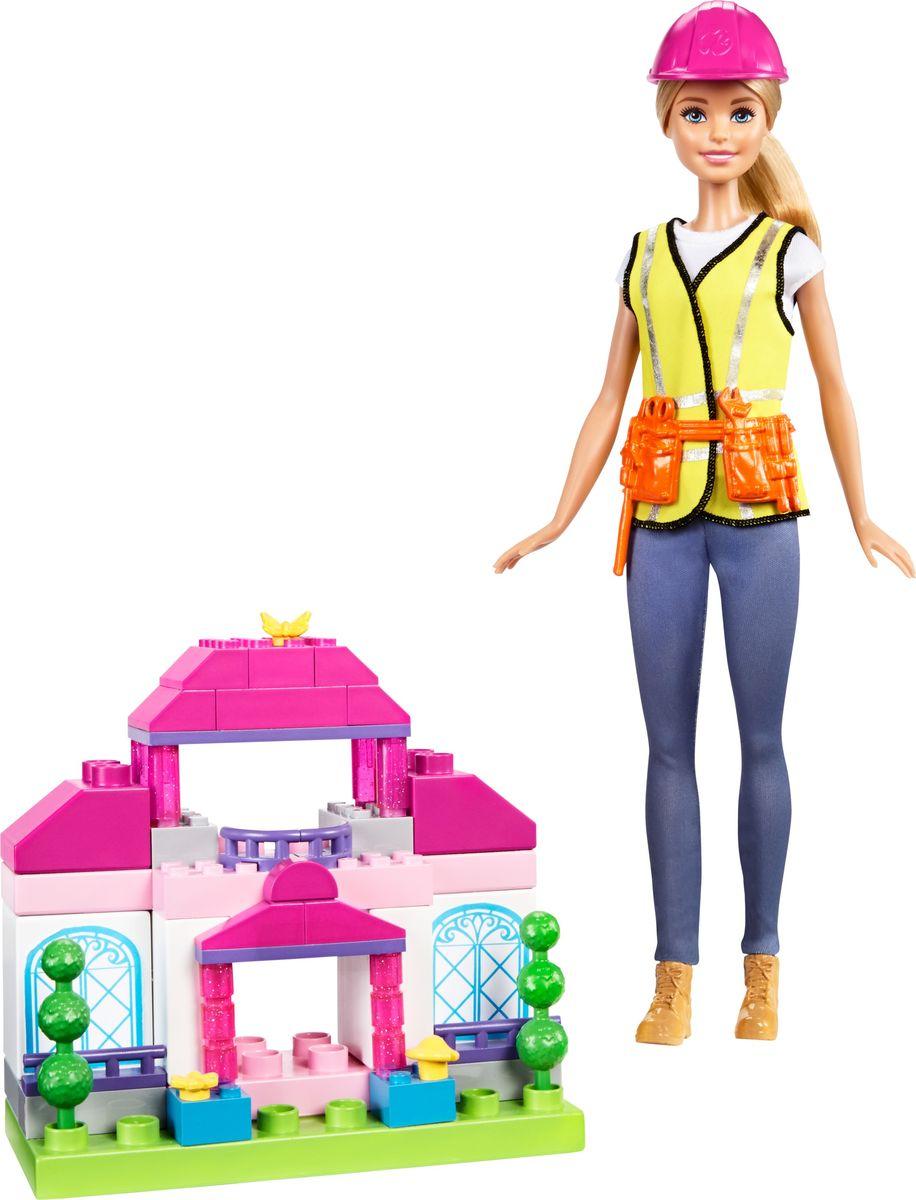 Barbie Игровой набор с куклой Строитель кукла barbie мини русалочка розовая cjd19