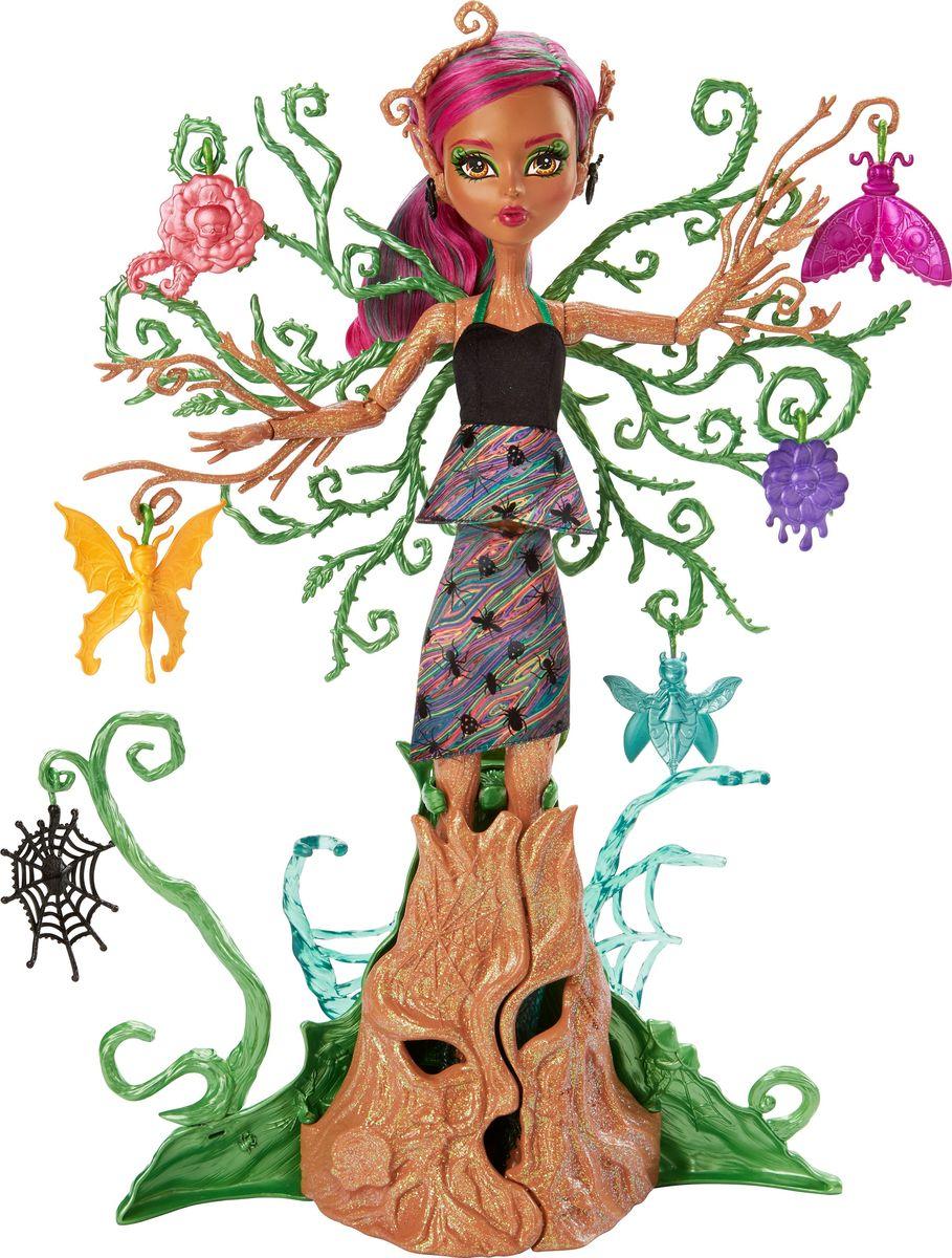 Monster High Игровой набор с куклой Цветочная монстряшка Триса monster high игровой набор стильная фрэнки monster high