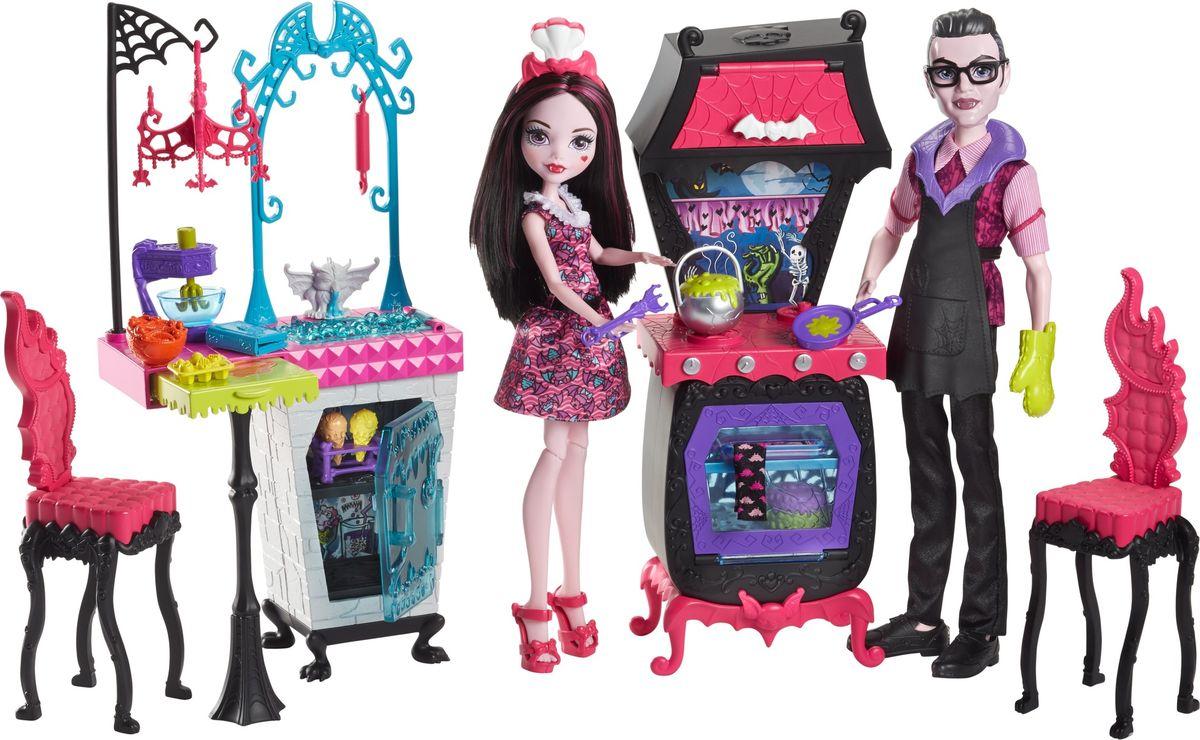 Monster High Игровой набор с куклой Семья Дракулауры mattel monster high fcv81 набор кукол из серии семья монстриков