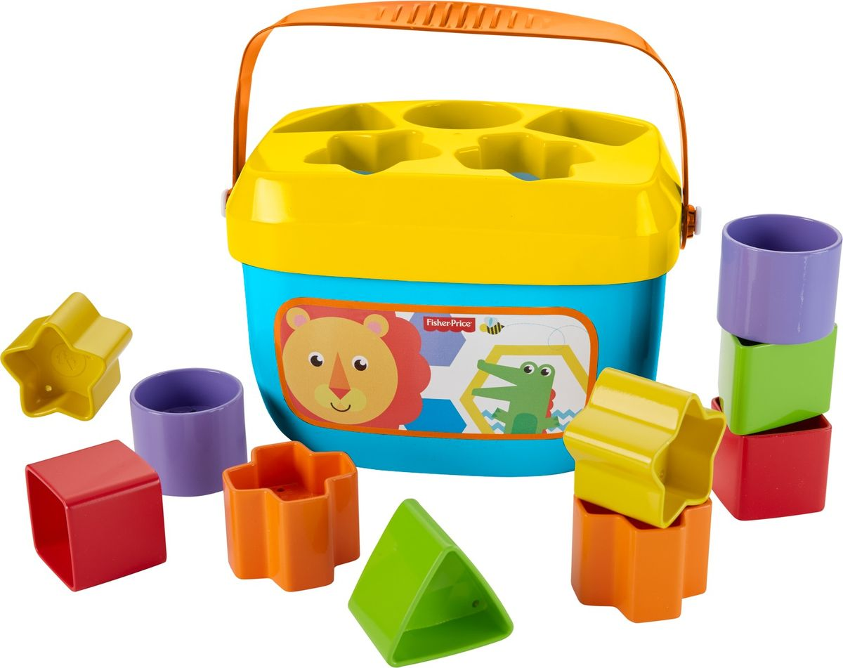 Fisher-Price Сортер Первые кубики малыша двенадцатигранные кубики кости