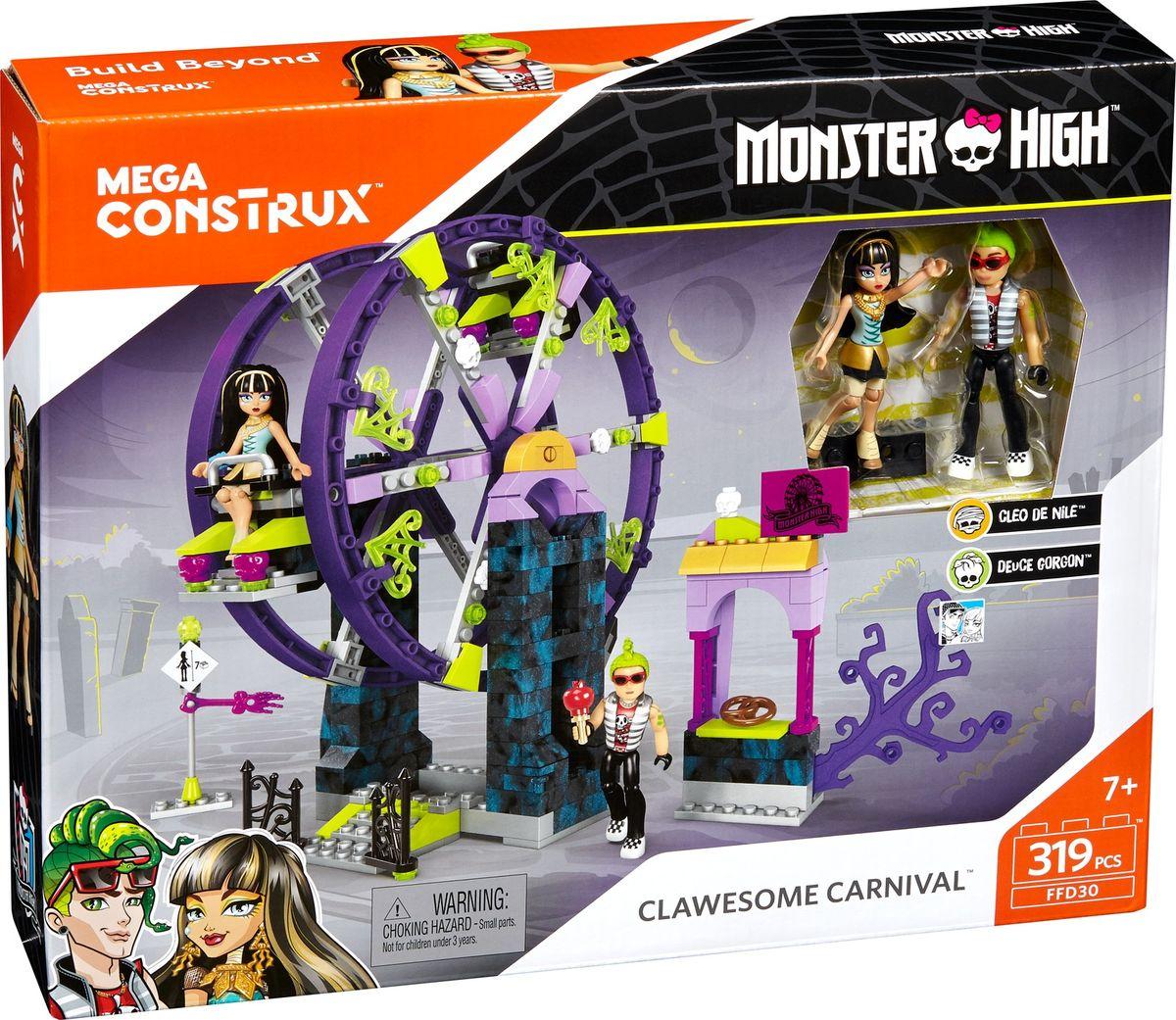 Mega Construx Monster High Конструктор Школьный карнавал monster high монстры камера мотор