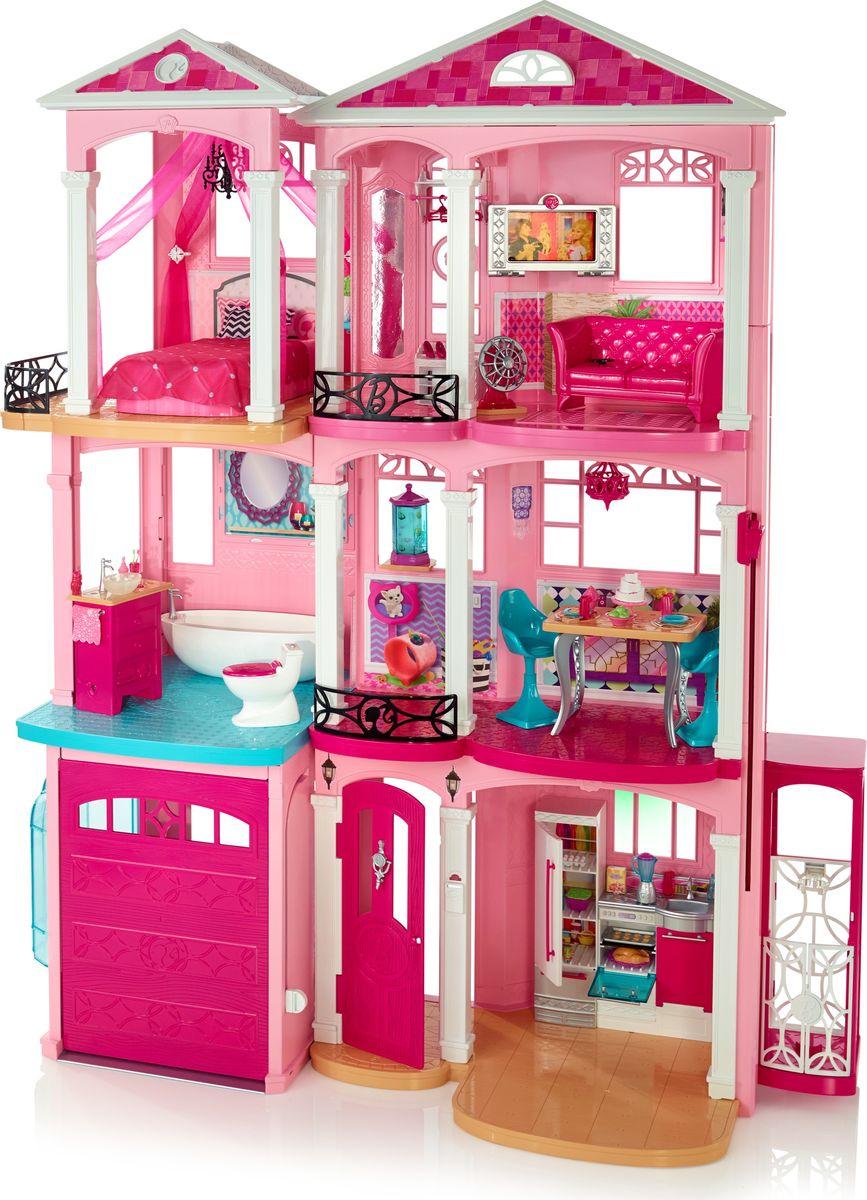 Barbie Дом мечты для куклы мебель для гостиной стенки горки
