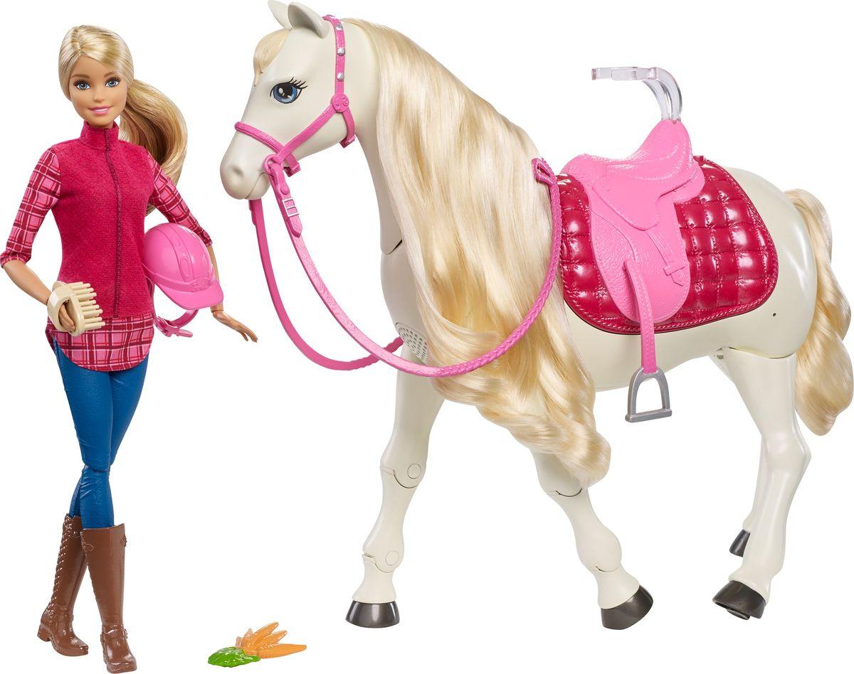 Barbie Транспорт для кукол Кукла и лошадь мечты аксессуары для кукол barbie одежда весна
