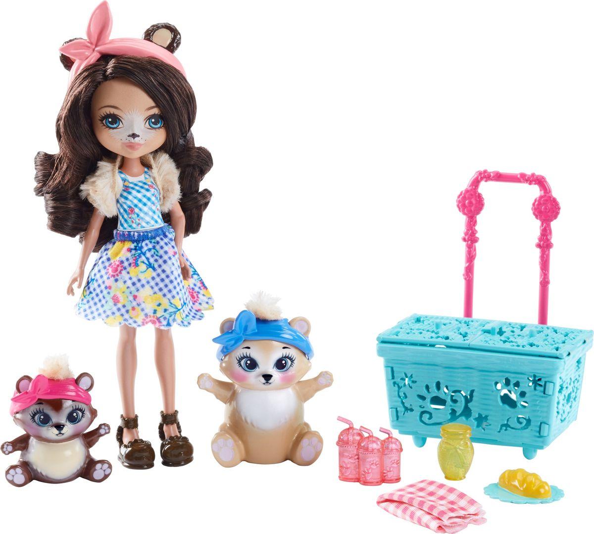 Enchantimals Игровой набор Кукла со зверушкой FCC62_FCC64 enchantimals пазл 64 магнитик фелисити лис и флик 03554