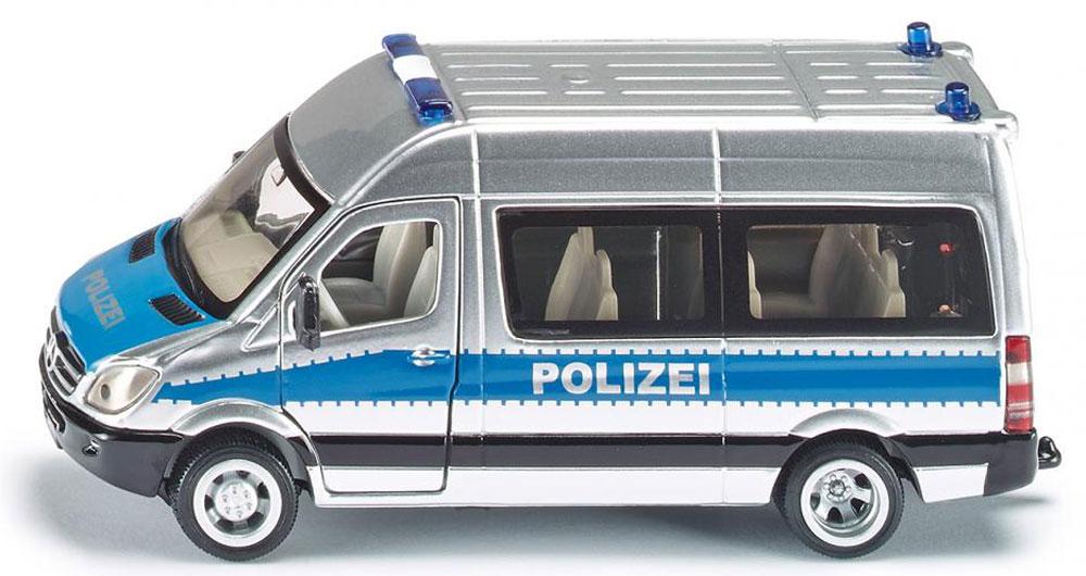 Siku Полицейский микроавтобус Mercedes-Benz Sprinter как и где купить микроавтобус