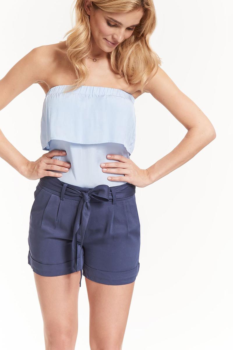 Шорты женские Top Secret, цвет: темно-синий. SSZ0807GR. Размер 38 (46) шорты женские top secret цвет синий ssz0815ni размер 42 50