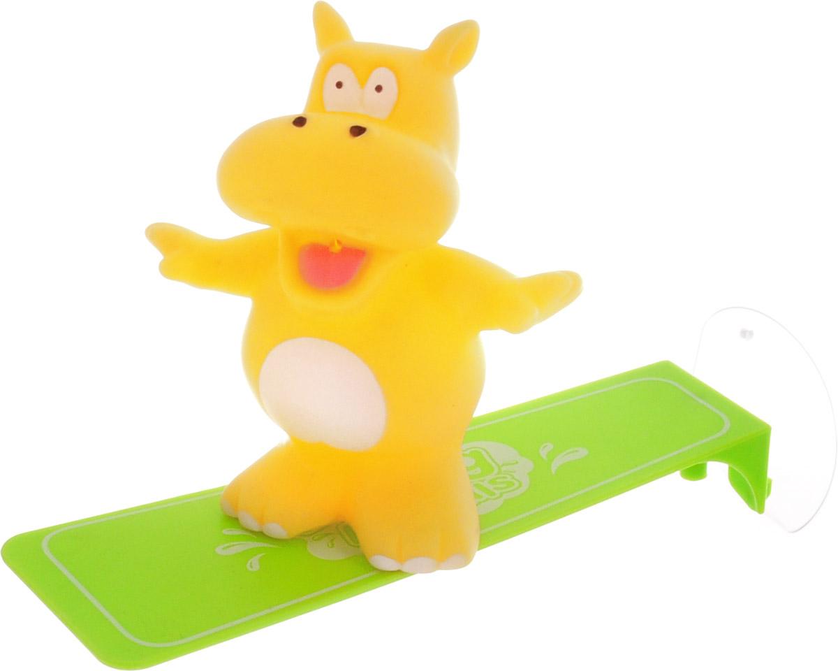 ABtoys Игрушка для ванной Игрушка-брызгалка Бегемот игрушки для ванны hap p kid игрушка для купания брызгалка пингвиненок