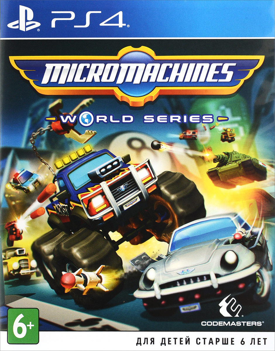 Zakazat.ru: Micro Machines World Series (PS4)