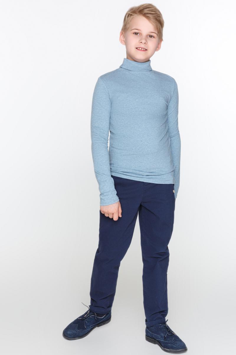 Водолазка для мальчика Acoola Cowslip, цвет: голубой. 20110100081_400. Размер 15220110100081_400Базовая водолазка Acoola Cowslip с воротником-гольф, выполненная из меланжевого эластичного трикотажа. Модель с длинными рукавами.