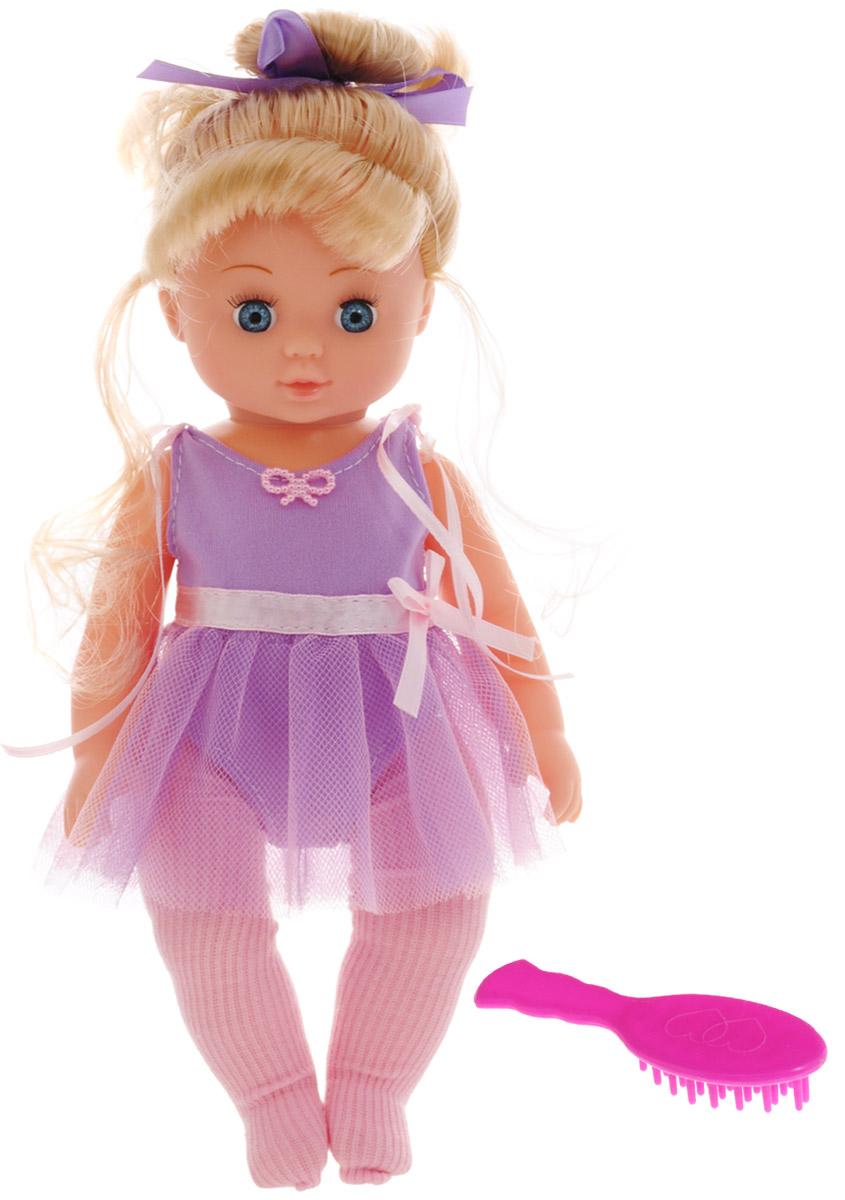 ABtoys Кукла Балерина цвет купальника фиолетовый abtoys кукла зимняя фея сноусторм