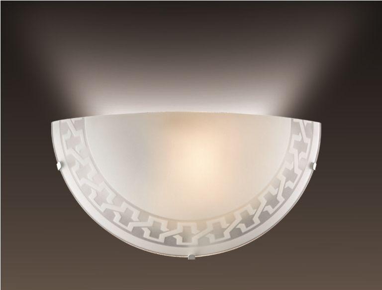 Cветильник настенный Sonex Vassa, 1 х E27, 60W. 1203/A1203/A