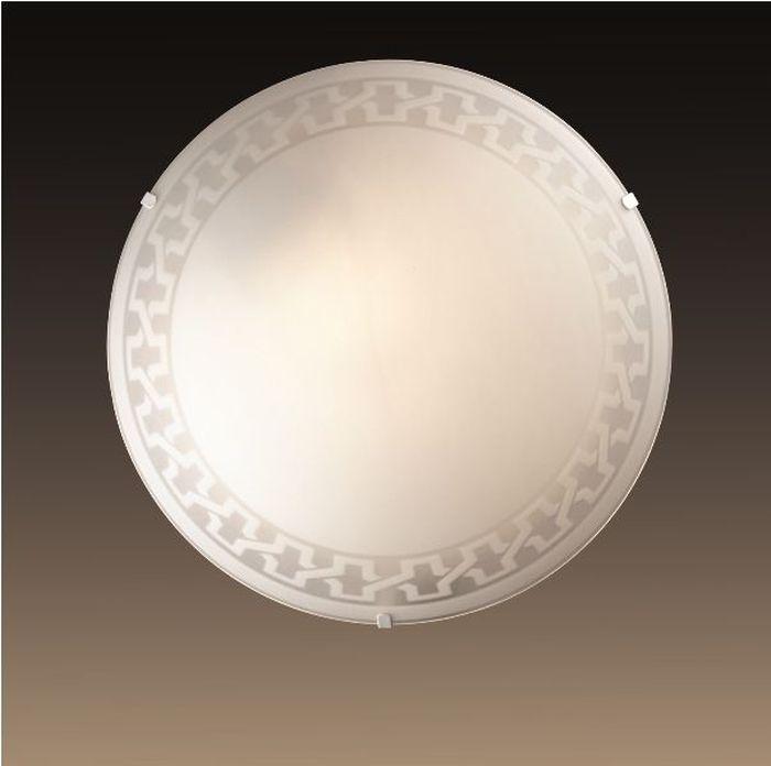 Светильник потолочный Sonex Vassa, 1 х E27, 60W. 1203/L1203/L