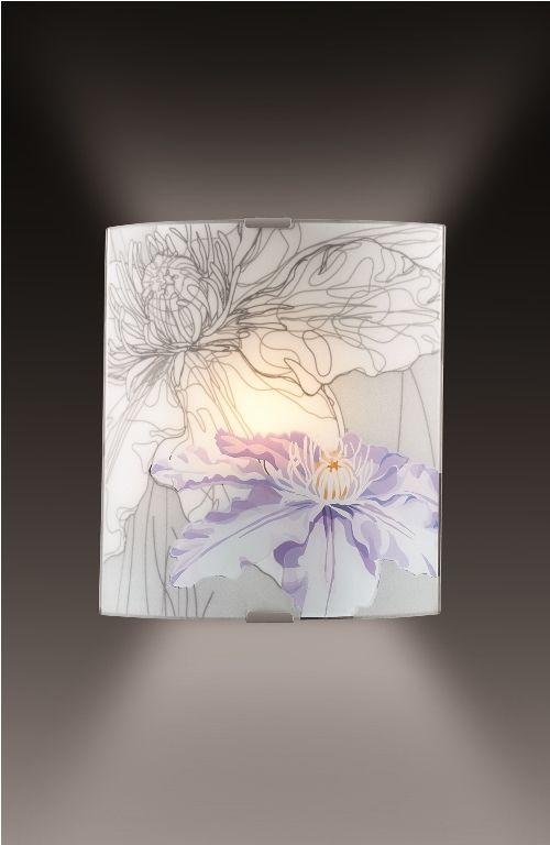 Cветильник настенный Sonex Iris, 1 х E27, 60W. 1230/A1230/A