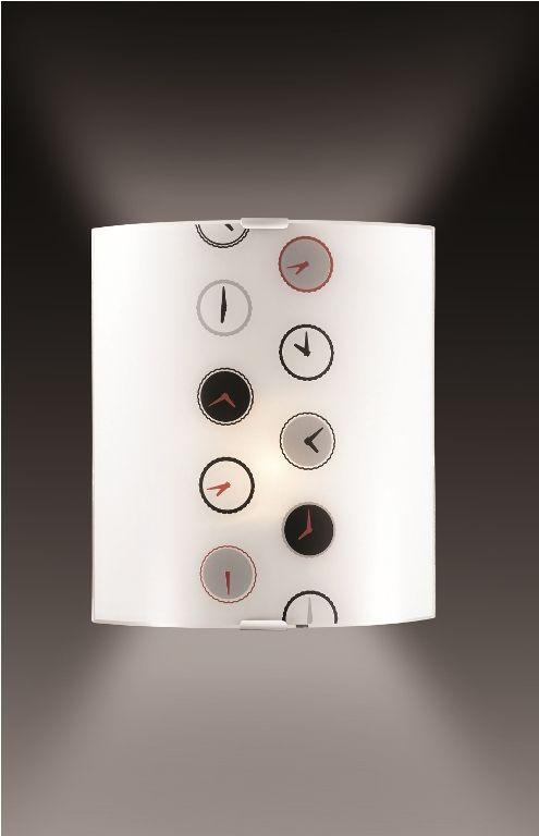 Cветильник настенный Sonex Time, 1 х E27, 60W. 1236/A1236/A