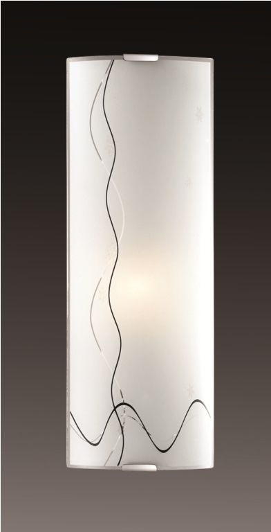 Cветильник настенный Sonex Birona, 1 х E14, 60W. 1237/L1237/L