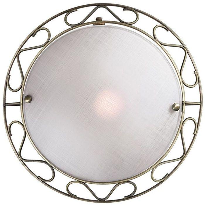 Cветильник настенный Sonex Istra, 1 х E14, 60W. 12531253