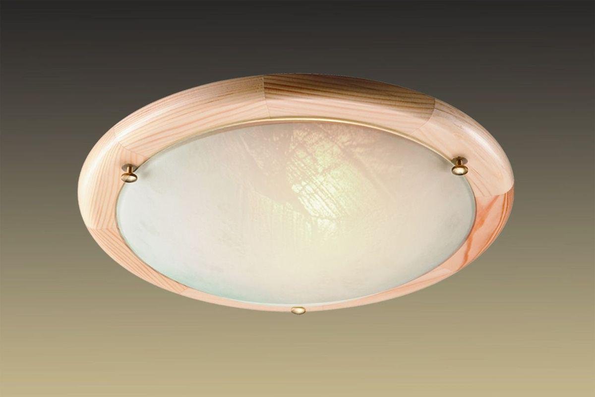 Светильник потолочный Sonex Alabastro, 1 х E27, 100W. 172172